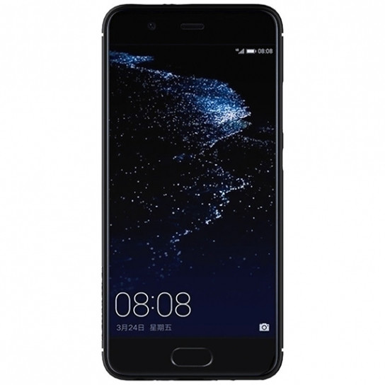 Фото Карбоновая накладка Nillkin Synthetic Fiber series для Huawei P10 Plus Черный на itsell.ua
