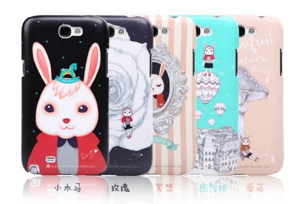 Пластиковая накладка ROCK Rabbit Xiaoji series для Samsung N7100 Galaxy Note 2