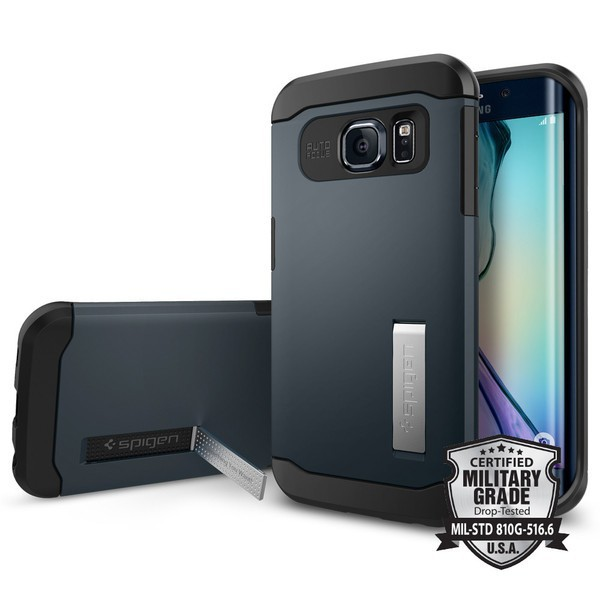 Фото Пластиковая накладка SGP Slim Armor Series для Samsung Galaxy S6 Edge Plus на itsell.ua