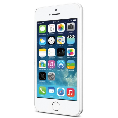 Пластиковая накладка SGP Ultra Thin Air A Series для Apple iPhone 5/5S/SE Белый / Smooth White / SGP10500 на itsell.ua