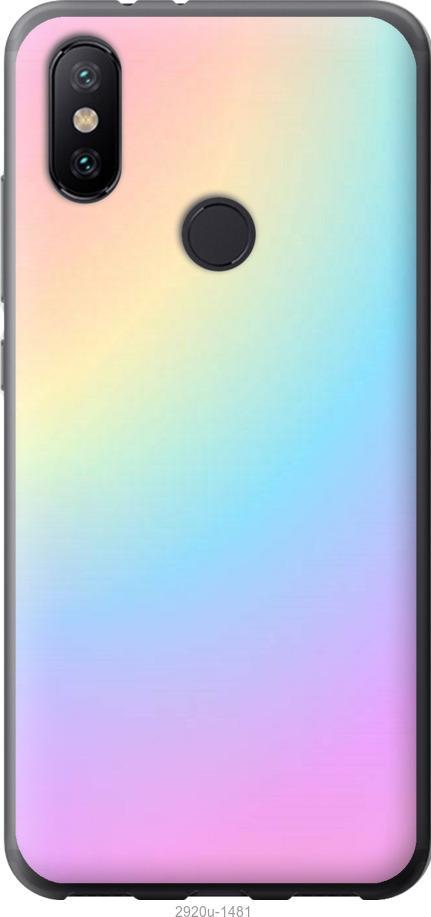 Чехол на Xiaomi Mi Mix 3 Радуга 2