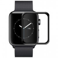 Полимерная пленка 3D (full glue) (тех.пак) для Apple watch 40mm