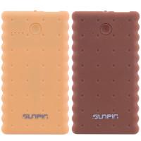 Купить Портативное зарядное устройство SunPin K50 Печенье с фонариком (5000 mAh 1 USB 2A)
