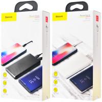 Портативное зарядное устройство Power Bank Baseus Mini Cu 10000 mAh