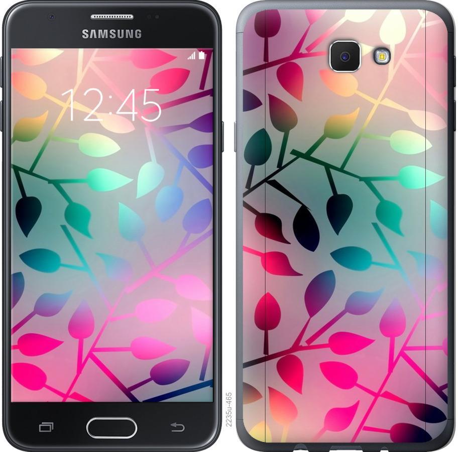 Чехол на Samsung Galaxy J5 Prime Листья