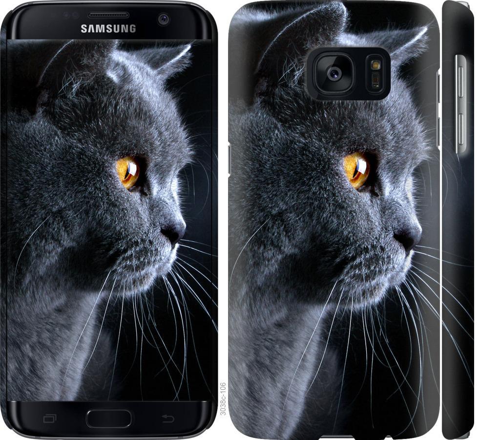 Чехол на Samsung Galaxy S7 G930F Красивый кот