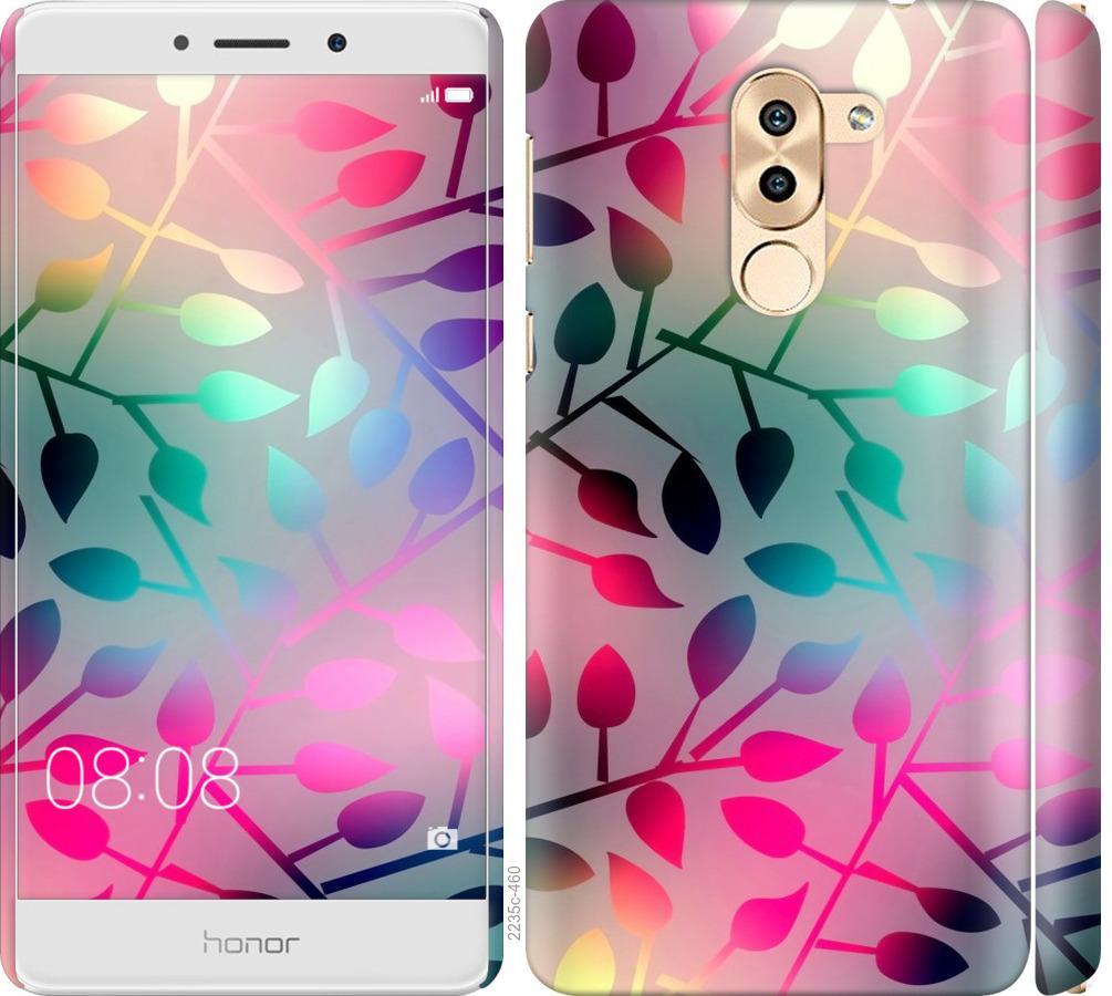 Чехол на Huawei Mate 9 Lite Листья