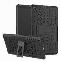 Противоударный двухслойный чехол Shield для Huawei MediaPad M5 8.4 c подставкой