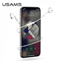 Провідна гарнітура USAMS EP-22 з мікрофоном і регулятором гучності (3.5mm)