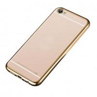 Купить Прозрачный силиконовый чехол для Meizu U10 с глянцевой окантовкой, Epik