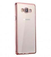 Купить Прозрачный силиконовый чехол для Samsung Galaxy J2 Prime (2016) (G532F) с глянцевой окантовкой, Epik