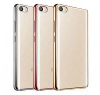Купить Прозрачный силиконовый чехол для Xiaomi Mi 5s с глянцевой окантовкой, Epik