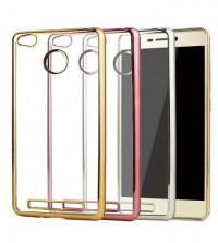 Купить Прозрачный силиконовый чехол для Xiaomi Redmi 3 Pro / Redmi 3s с глянцевой окантовкой, Epik