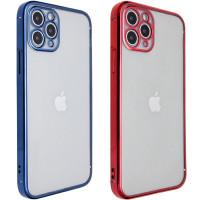 """Прозрачный силиконовый чехол с глянцевой окантовкой Full Camera для Apple iPhone 11 Pro Max (6.5"""")"""