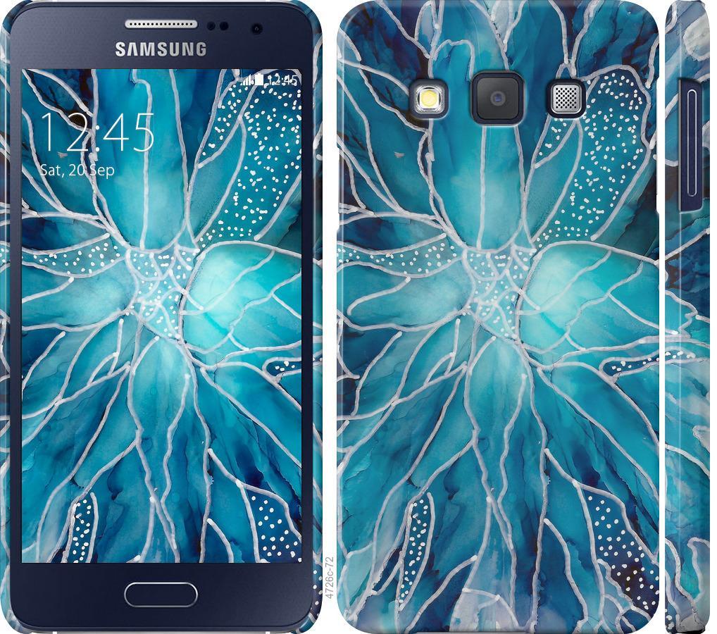 Чехол на Samsung Galaxy A3 A300H чернило