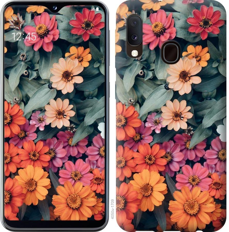 Чехол на Samsung Galaxy A20e A202F Beauty flowers