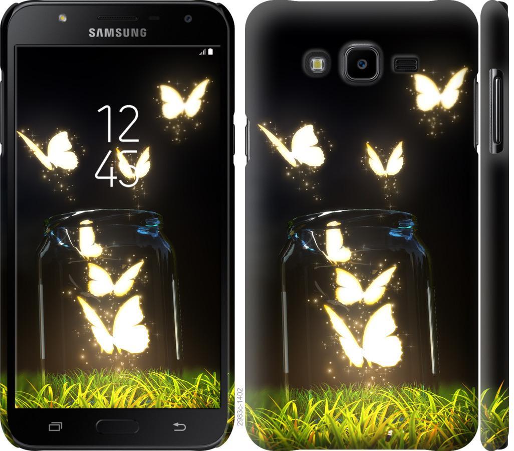 Чехол на Samsung Galaxy J7 Neo J701F Бабочки