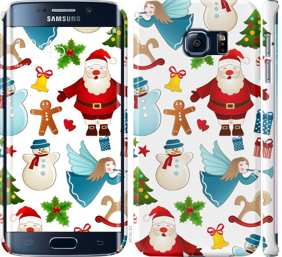 Чехол на Samsung Galaxy S6 Edge G925F Новогодний 1