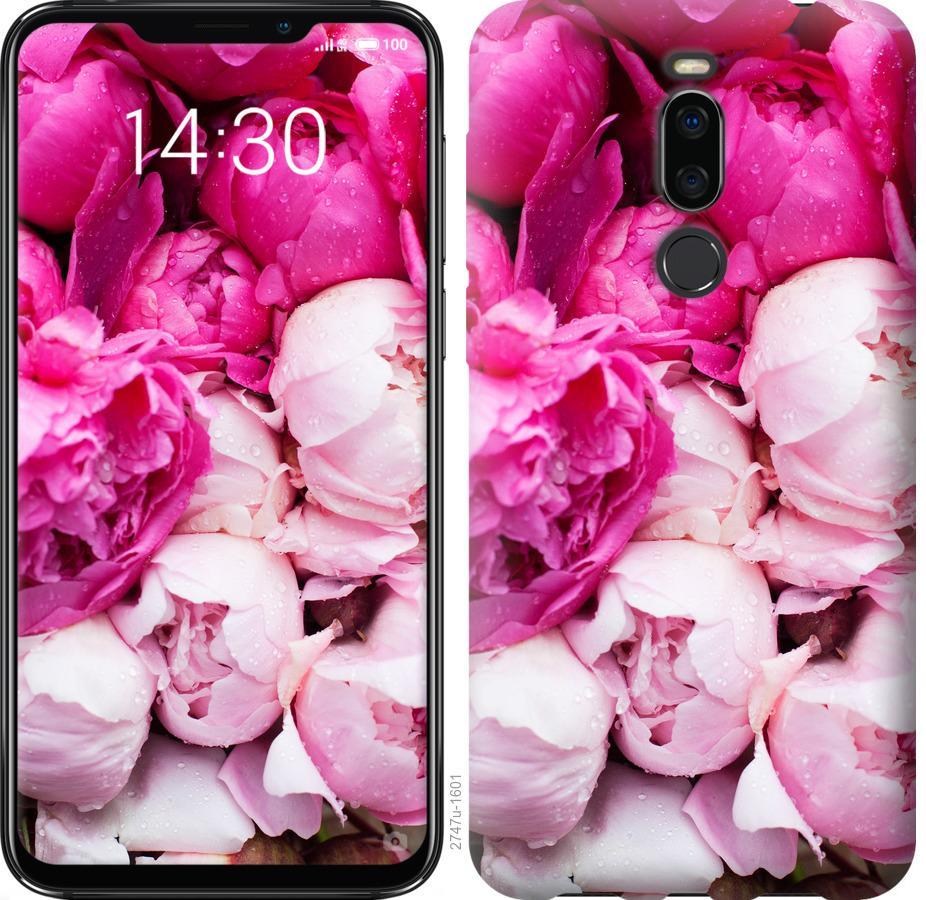Чехол на Meizu X8 Розовые пионы