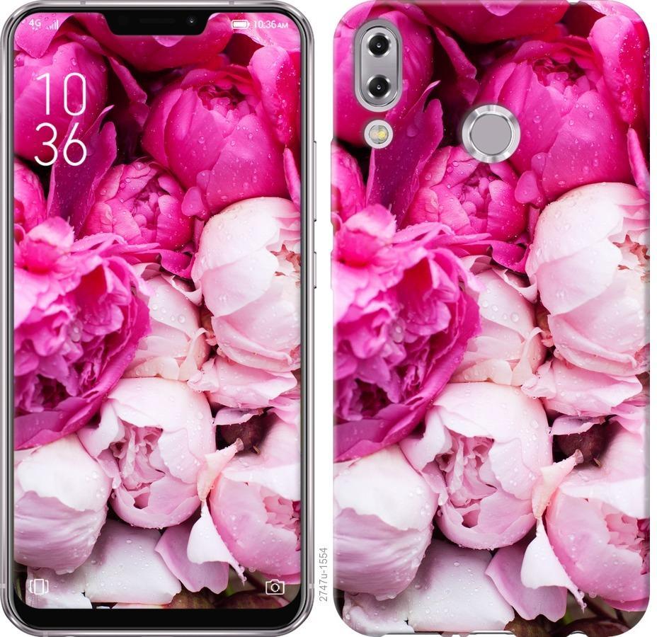 Чехол на Asus Zenfone 5 ZE620KL Розовые пионы