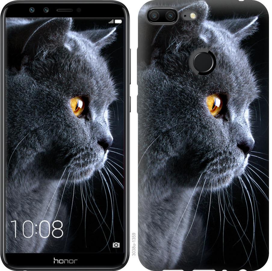 Чехол на Huawei Honor 9i Красивый кот