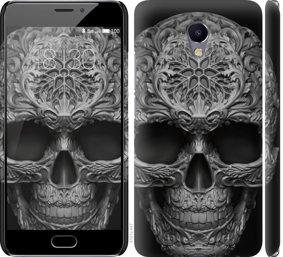 Чехол на Meizu M5 Note skull-ornament