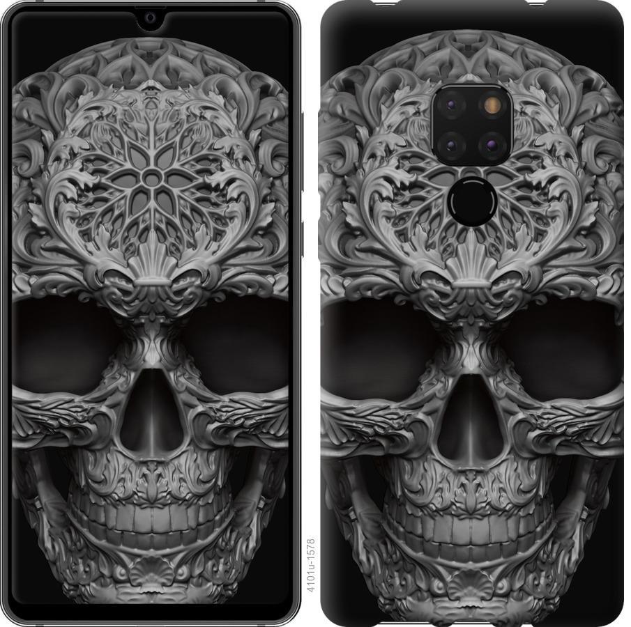 Чехол на Huawei Mate 20 skull-ornament