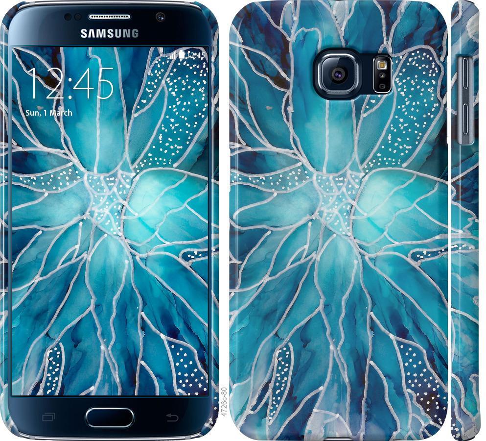 Чехол на Samsung Galaxy S6 G920 чернило