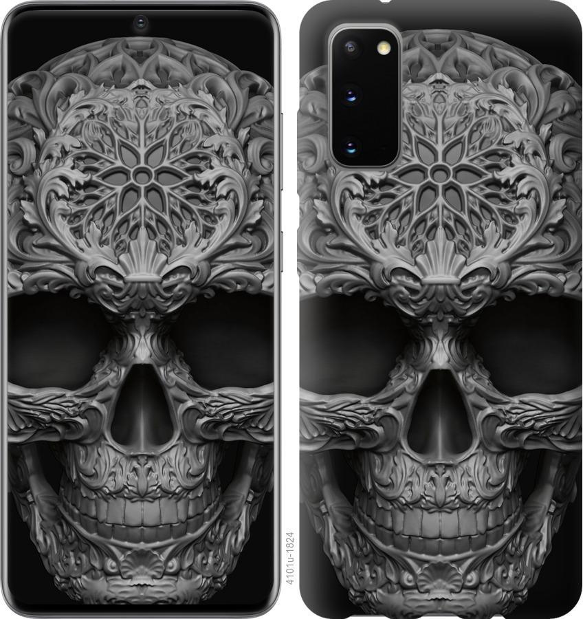 Чехол на Huawei Honor 30 skull-ornament