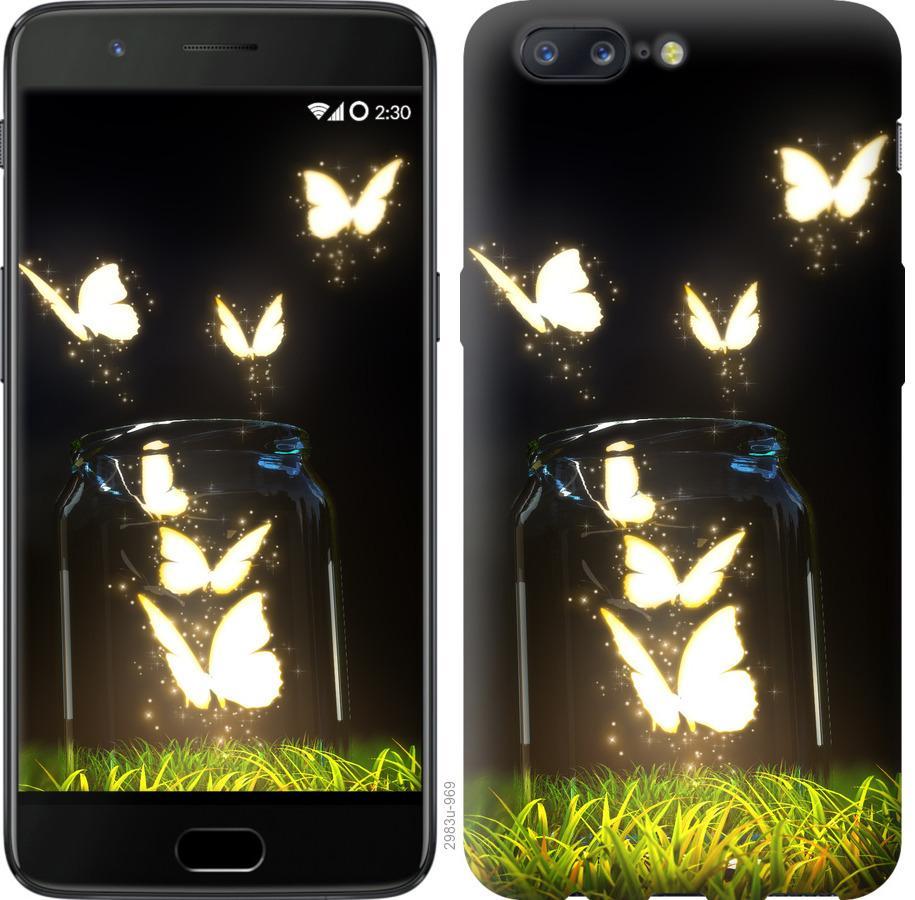 Чехол на OnePlus 5 Бабочки