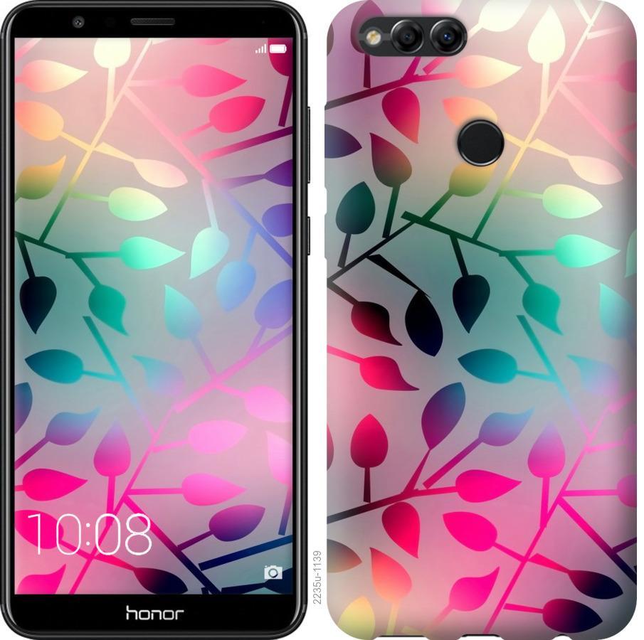 Чехол на Huawei Honor 7X Листья
