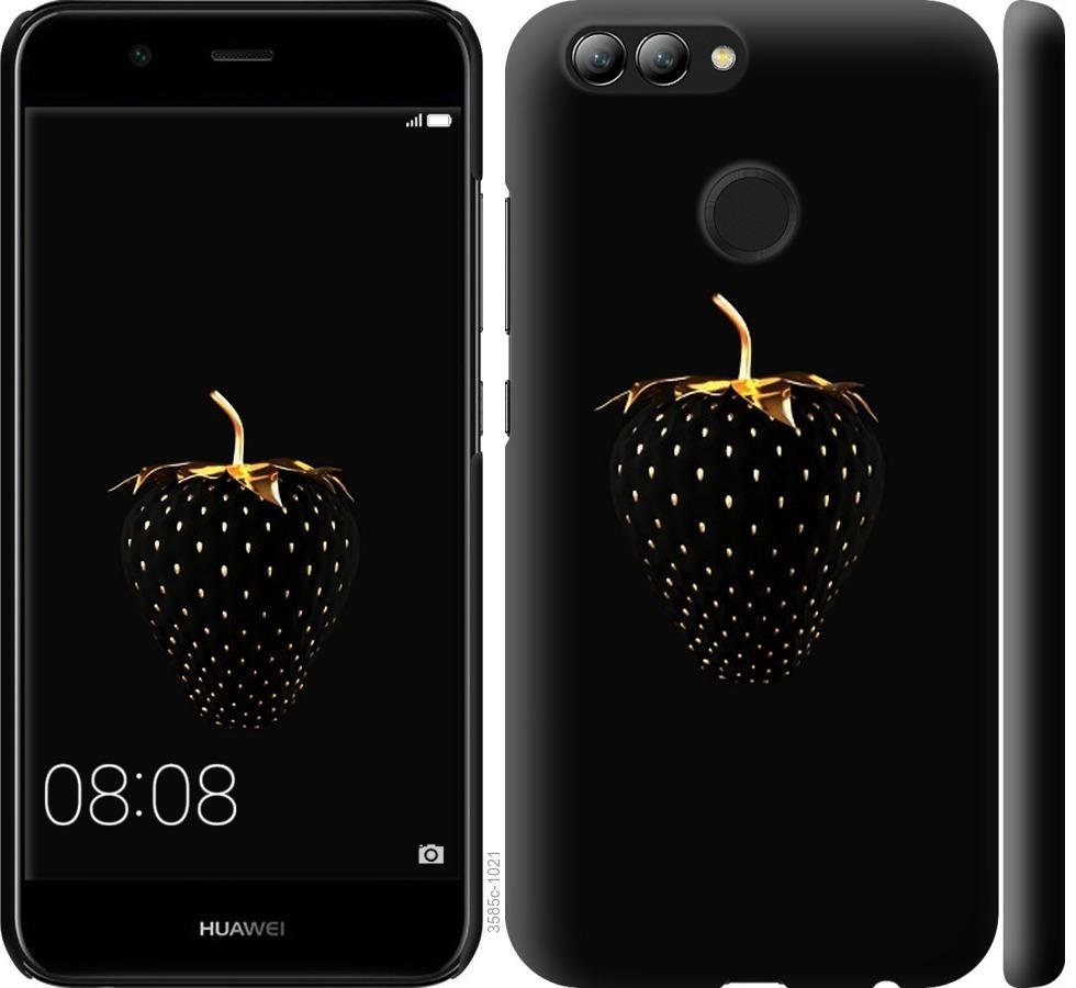 Чехол на Huawei Nova 2 Черная клубника