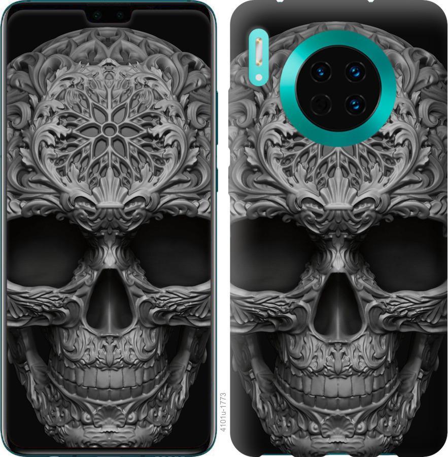 Чехол на Huawei Mate 30 skull-ornament