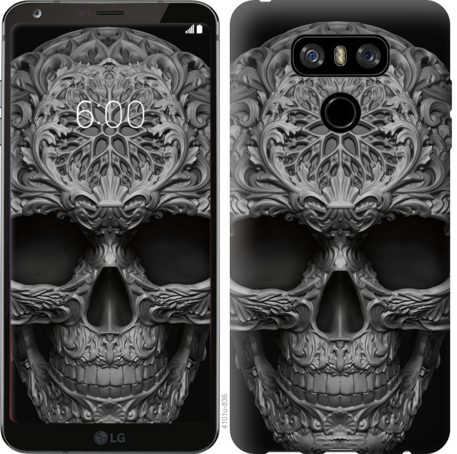 Чехол на LG G6 skull-ornament