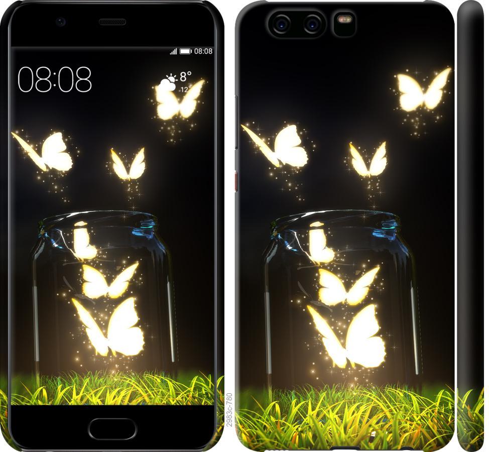 Чехол на Huawei P10 Бабочки