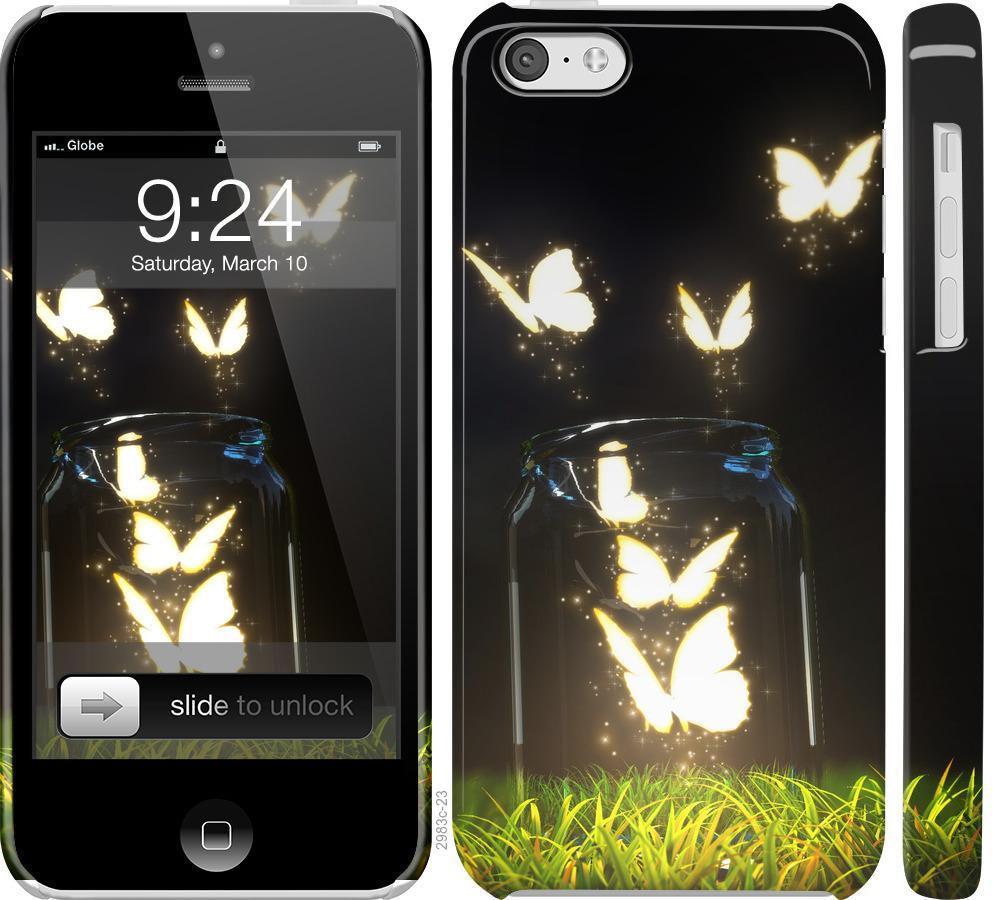 Чехол на iPhone 5c Бабочки