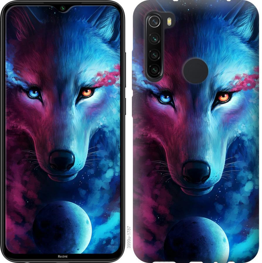Чехол на Samsung Galaxy A21 Арт-волк