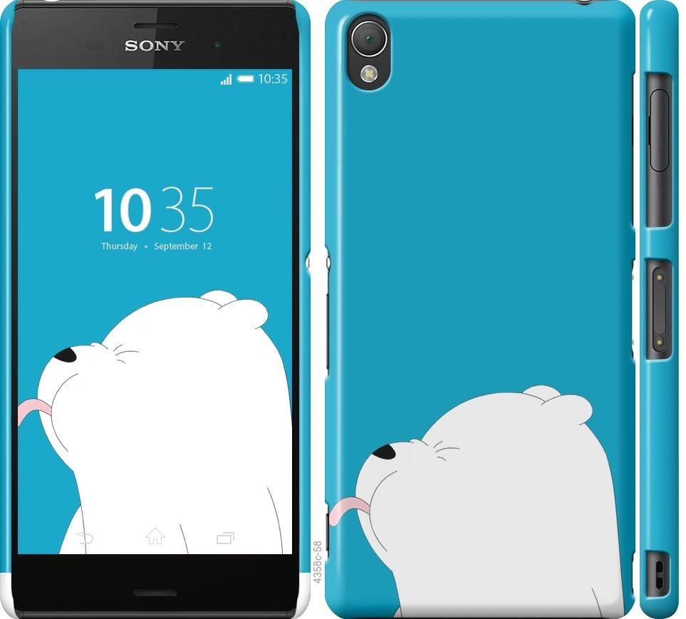 Чехол на Sony Xperia Z3 D6603 Мишка 1