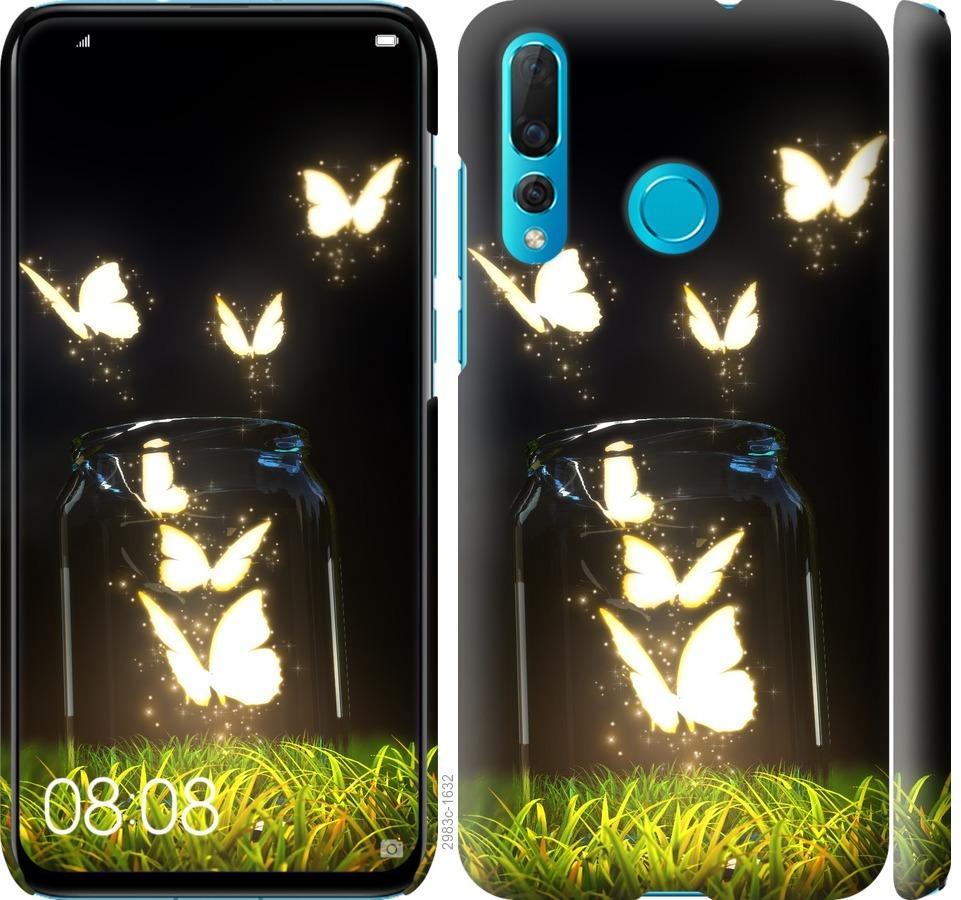 Чехол на Huawei Nova 4 Бабочки