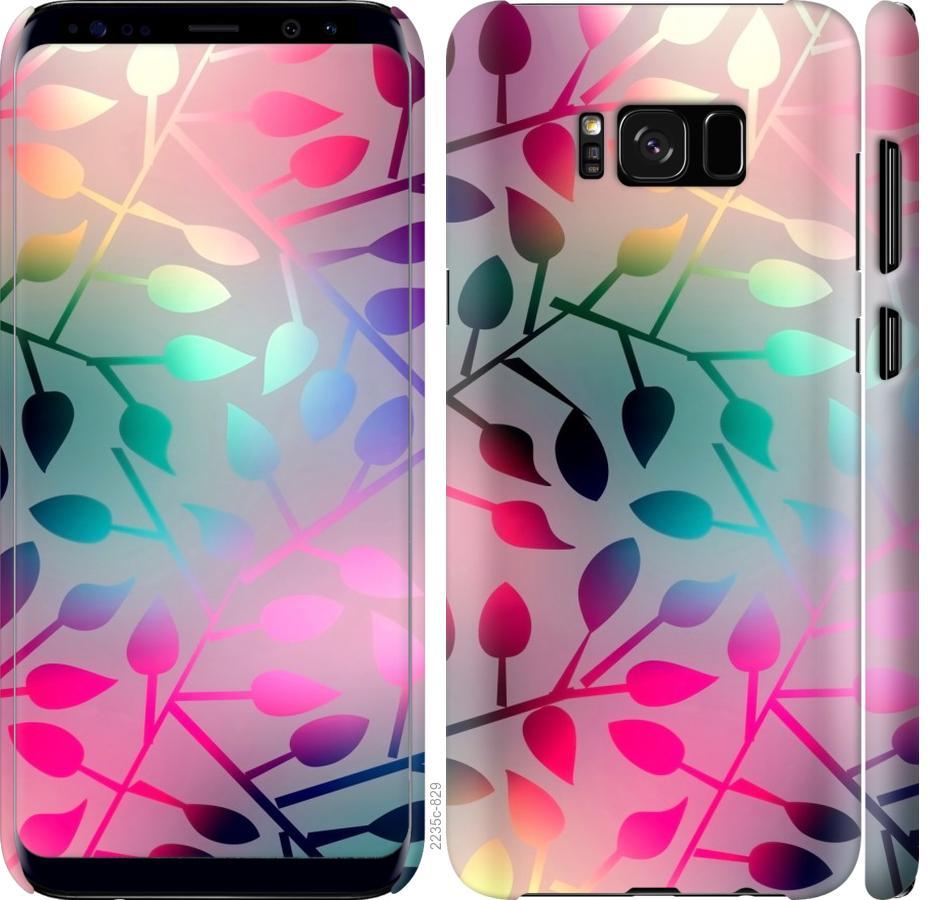 Чехол на Samsung Galaxy S8 Листья
