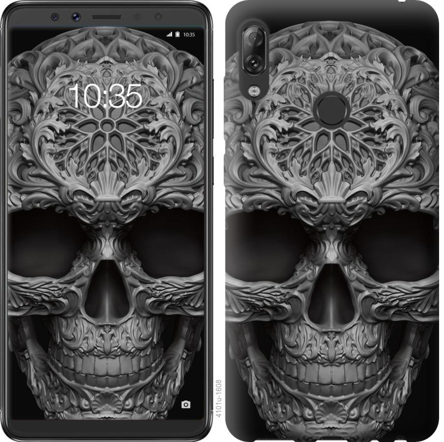 Чехол на Asus ZenFone Max Pro M1 ZB602KL skull-ornament