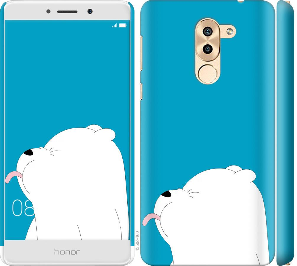 Чехол на Huawei Mate 9 Lite Мишка 1