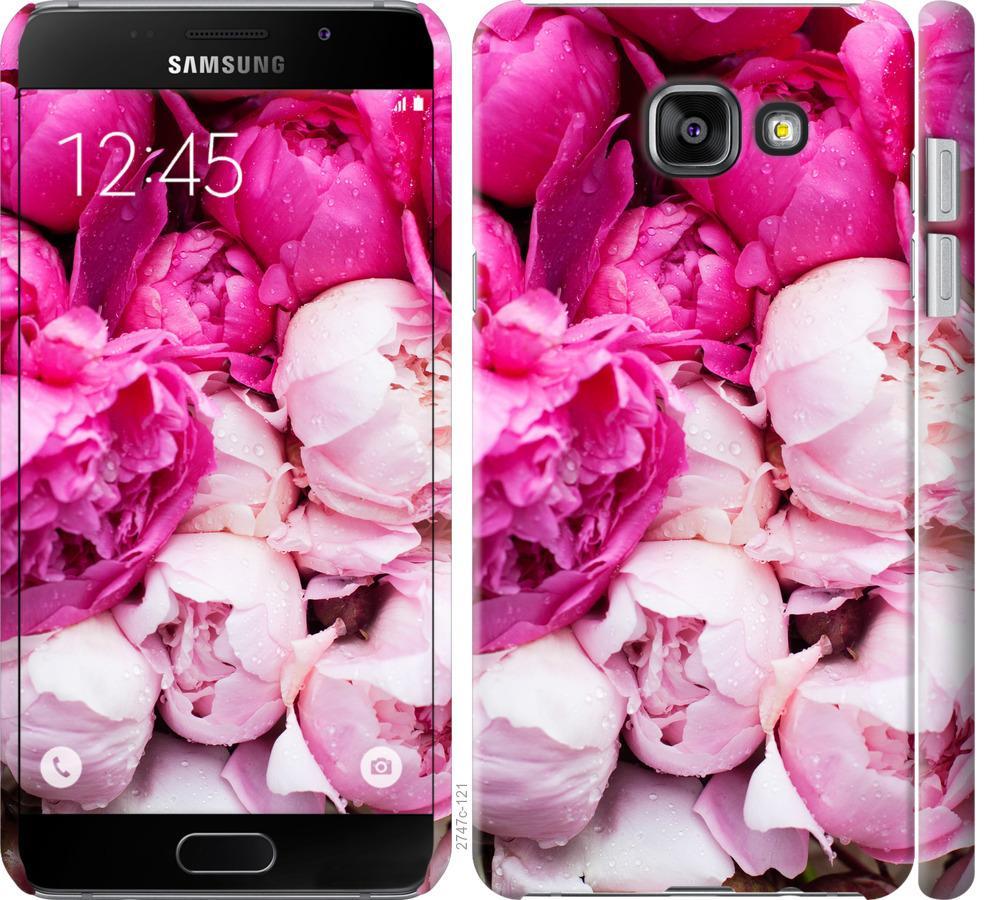 Чехол на Samsung Galaxy A7 (2016) A710F Розовые пионы