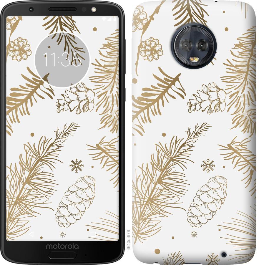 Чехол на Motorola Moto G6 Plus Зимний