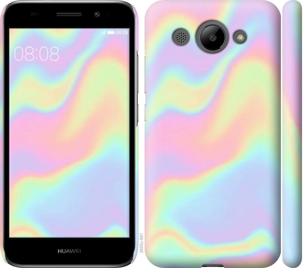 Чехол на Huawei Y3 2017 пастель