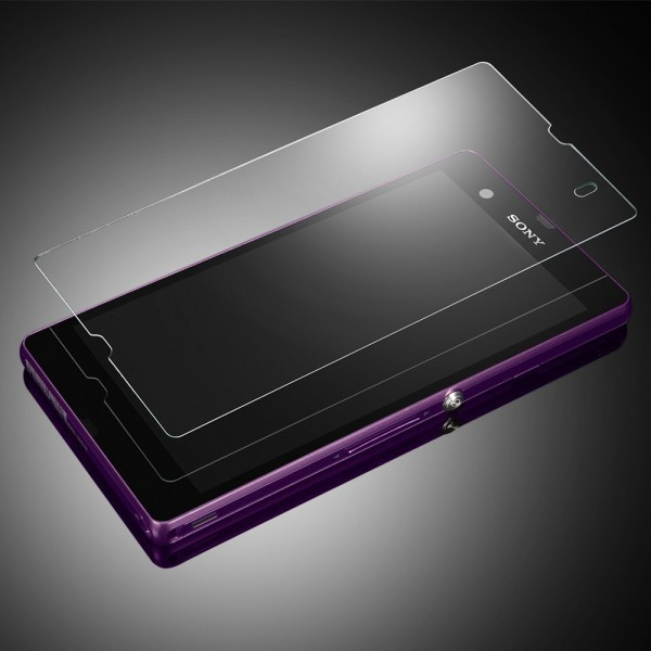 SGP Screen Protector GLAS.t SLIM Premium Tempered Glass Series для Sony Xperia Z (L36i) на itsell.ua