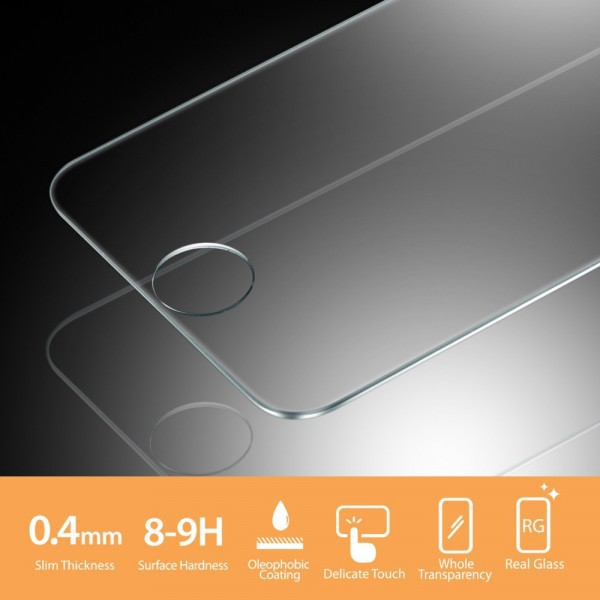 Фото SGP Screen Protector GLAS.tR SLIM Premium Tempered Glass Series для Apple iPhone 5/5S/5C на itsell.ua