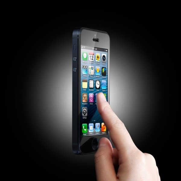 Купить SGP Screen Protector GLAS.tR SLIM Premium Tempered Glass Series для Apple iPhone 5/5S/5C на itsell.ua
