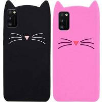 Силиконовая накладка 3D Cat для Samsung Galaxy A41
