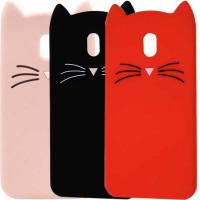 Силіконова накладка 3D Cat для Xiaomi Redmi 8A